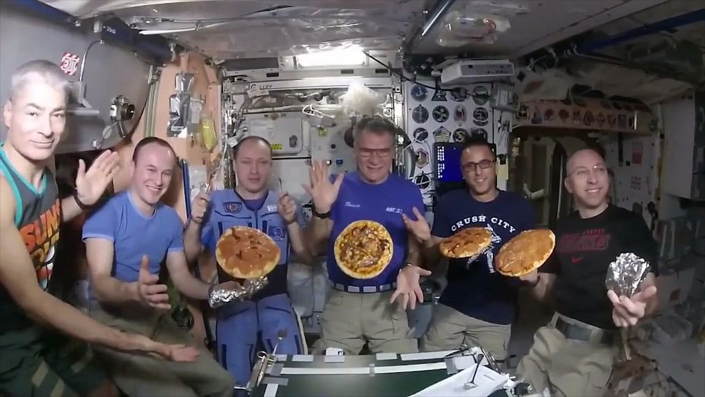 Would You Like to Try This Out of The World Pizza?