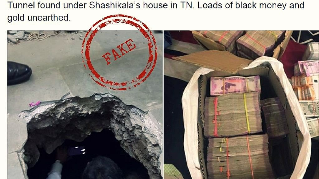Rs 17,000 Crore Seized From 'Under Sasikala's Home'! Or Was It?