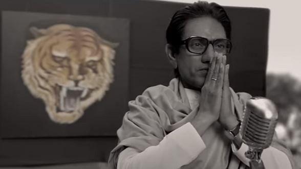 <p>Nawazuddin Siddiqui in and as Shiv Sena supremo, Bal Thackeray.&nbsp;</p>