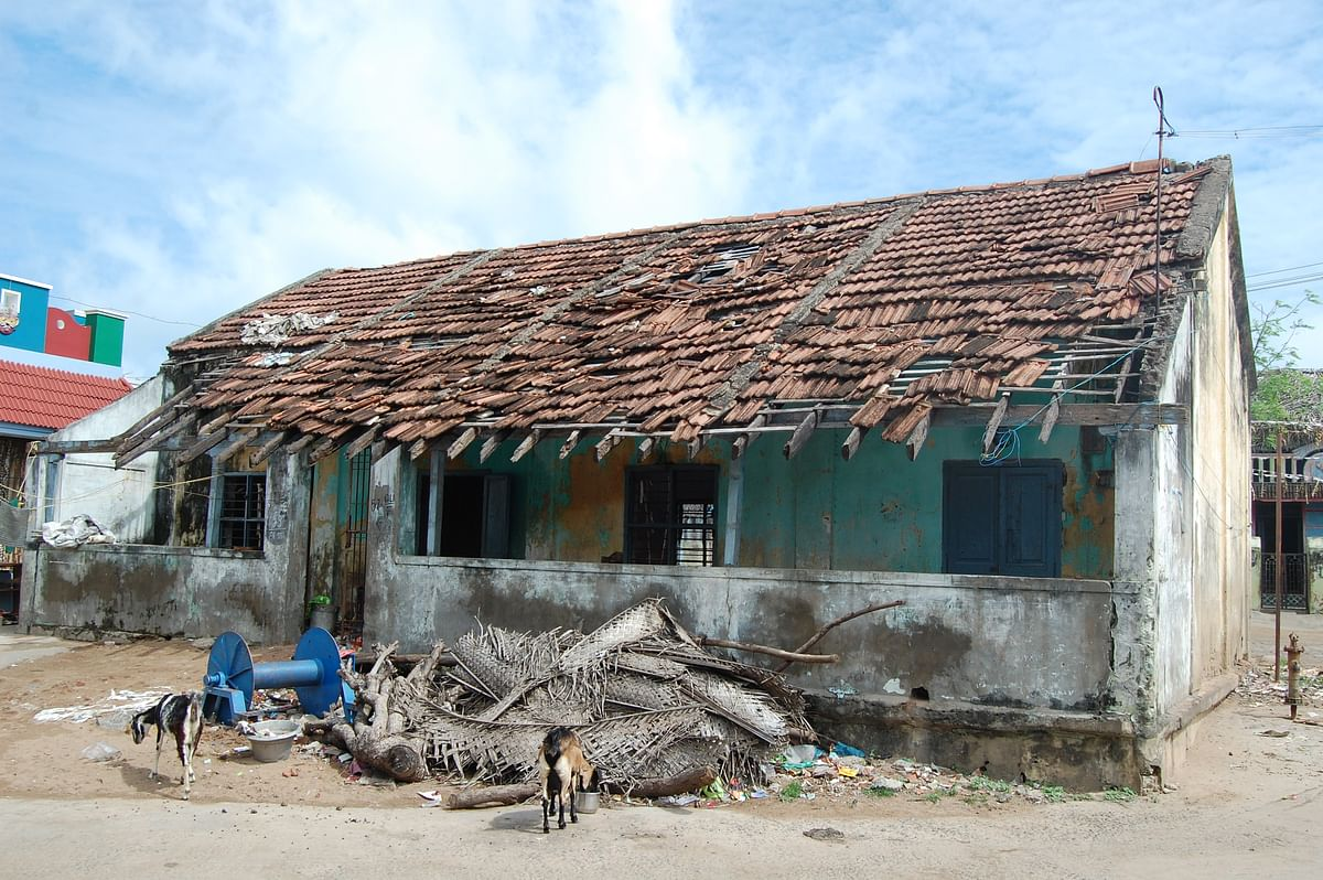 The school became a reminder of the treacherous tsunami waves and so parents refused to send their children to the school anymore.