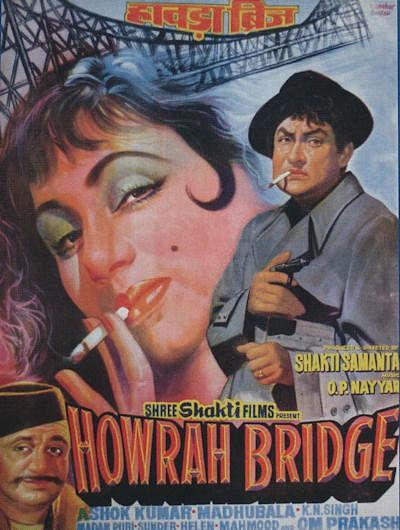 A poster of <i>Howrah Bridge</i>.&nbsp;