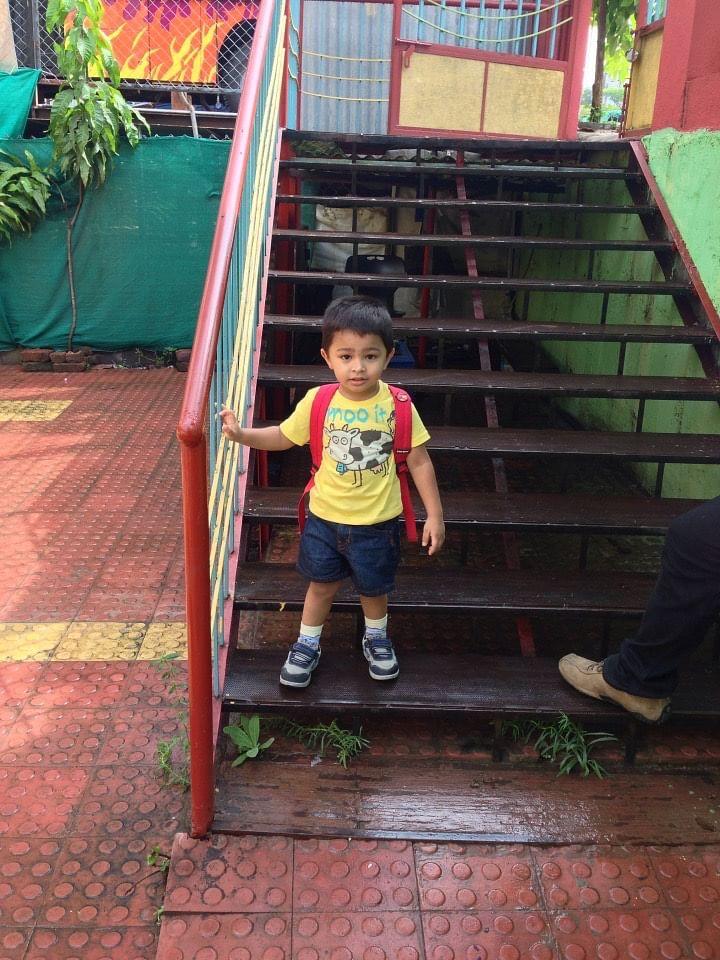 <p>Shraddha's 6-year-old son Sanat.</p>