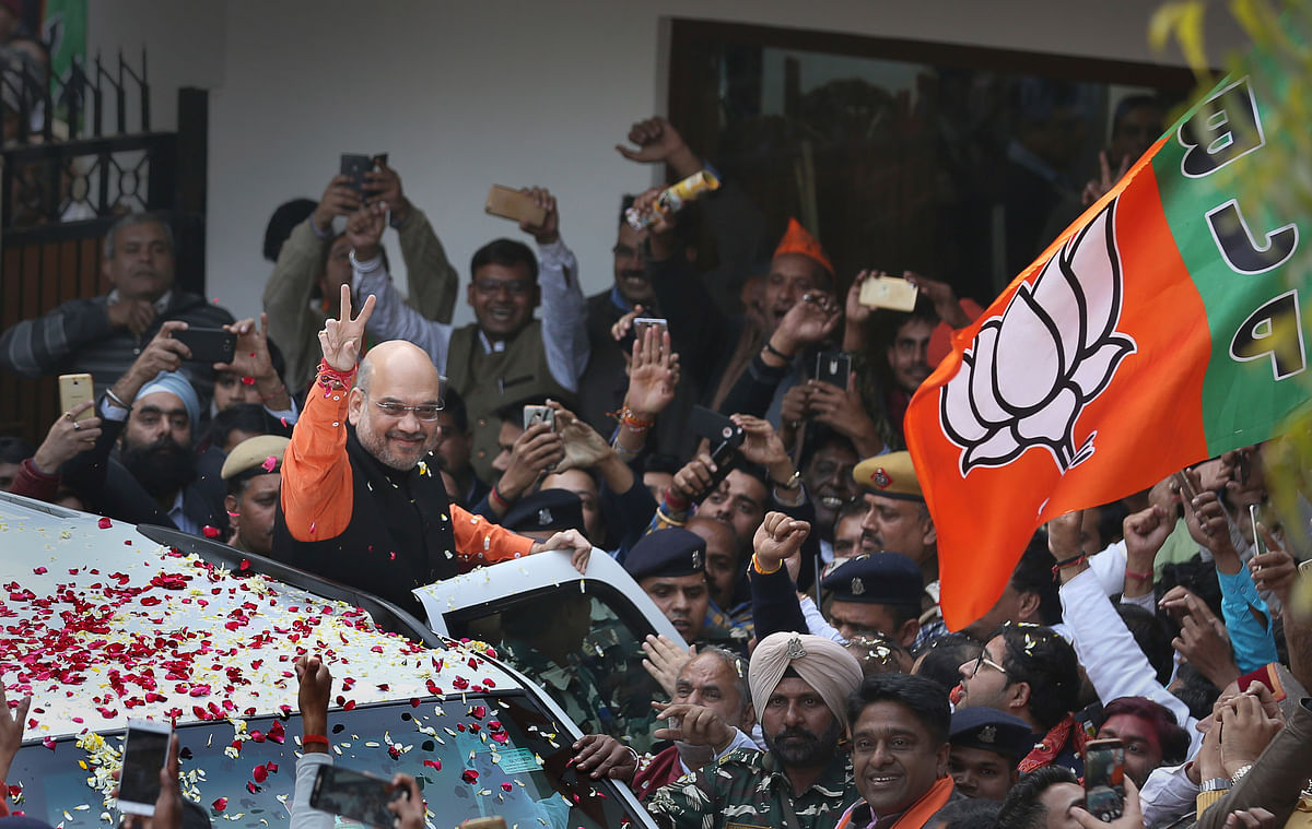 BJP Celebrates, Rahul Smiles Too: Counting Day in Pictures