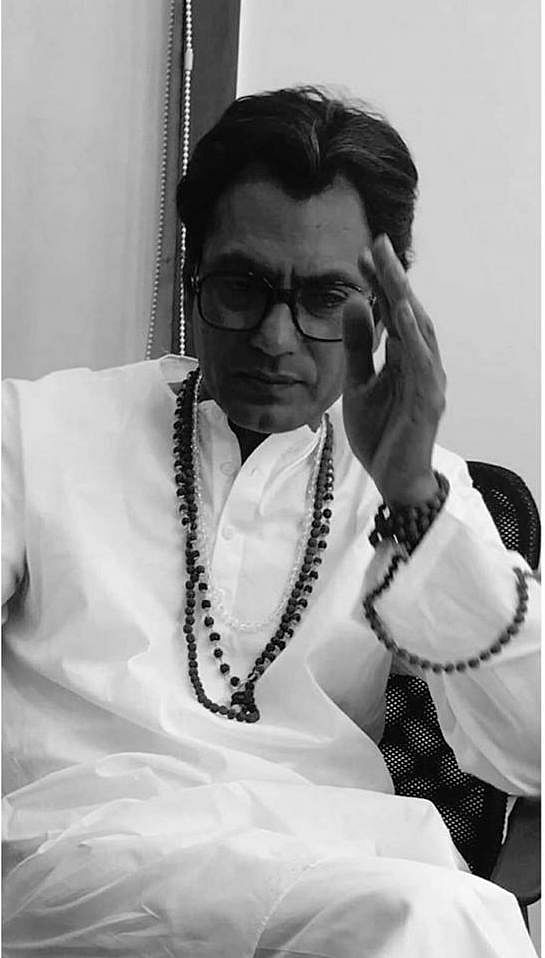 <p>Nawazuddin Siddiqui as Shiv Sena founder Bal Thackeray. &nbsp;</p>