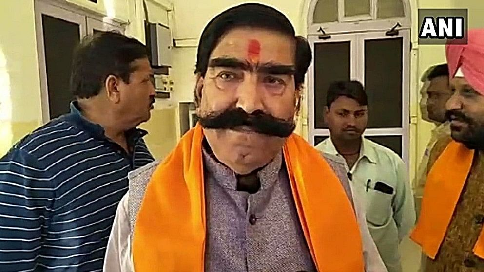 "BJP MLA Gyan Dev Ahuja had triggered controversy in the past after he claimed that ""more than 3,000 used condoms were found in JNU everyday""."