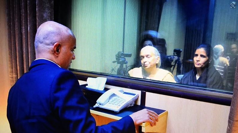 Kulbhushan Jadhav, Family Separated By Glass Screen in 35-Min Meet