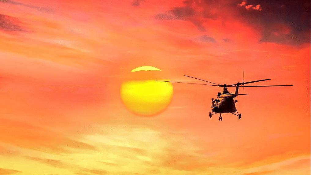 IAF's MI-8 Chopper.Image used for representational purpose.