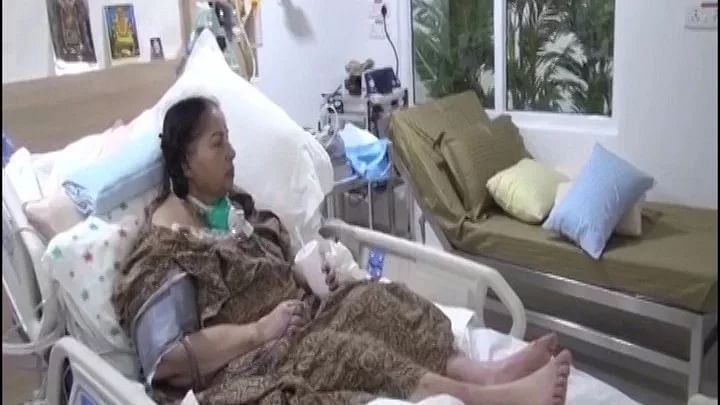 A 20-second video clip, purportedly of Jayalalithaa in an Apollo Hospitals bed, sipping a drink and apparently watching television, was leaked on Wednesday.