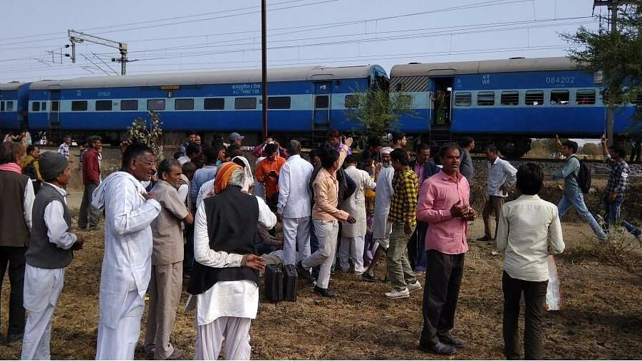 <p>The March 2017 explosion in the Bhopal-Ujjain passenger train in Madhya Pradesh was blamed on ISIS.</p>