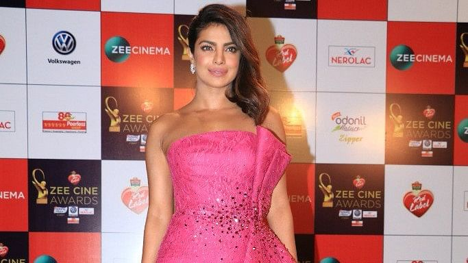 Priyanka Chopra turns heads.