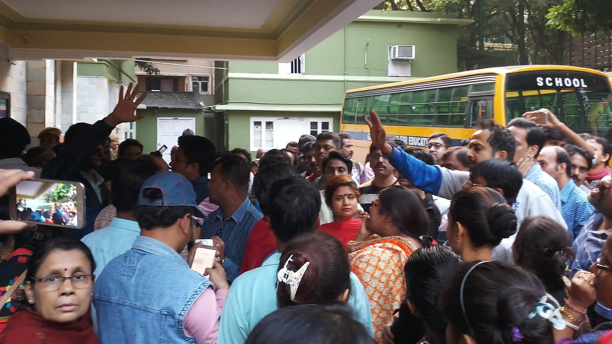 Parents Protest Over Sexual Assault of 4-Year-Old GD Birla Student