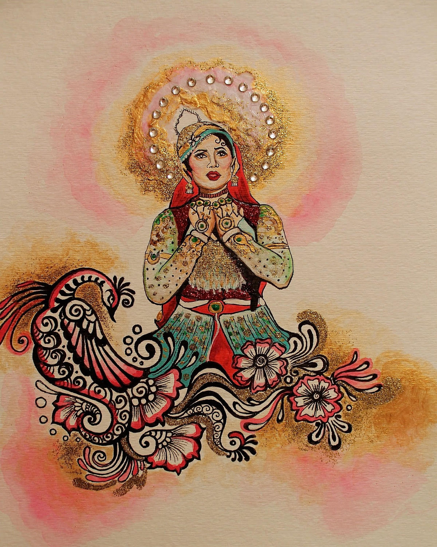 Madhubala inspires artwork among millennials.