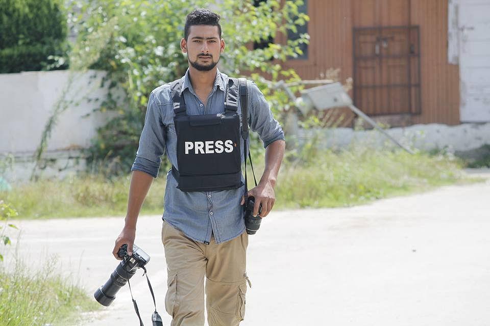 <p>21-year-old photojournalist Kamran Yousuf&nbsp;</p>