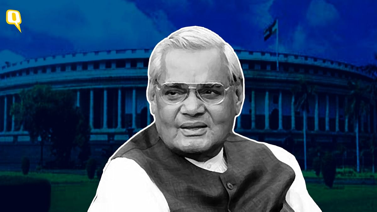 <b>The Quint </b>remembers 'Atal ji' by selecting video clips of four of his celebrated speeches.