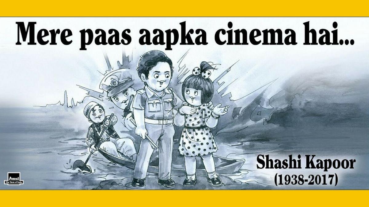 Mere Paas Aapka Cinema Hai: Amul Pays Tribute to Shashi Kapoor