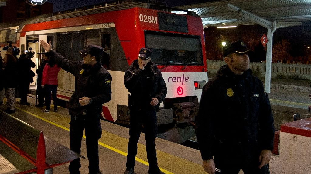 40 People Injured After Commuter Train Crashes in a Madrid Town