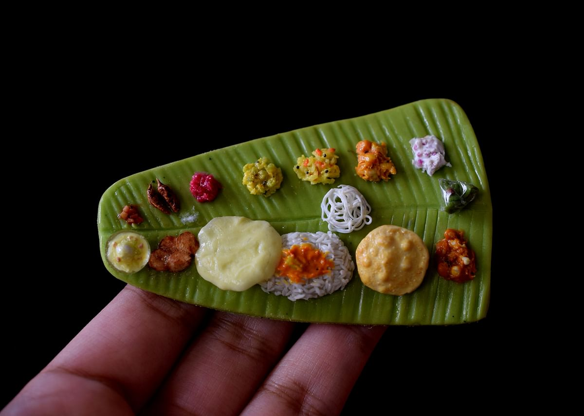 Elai Sappadu, the Tamil spread, is one of the best-selling magnets.
