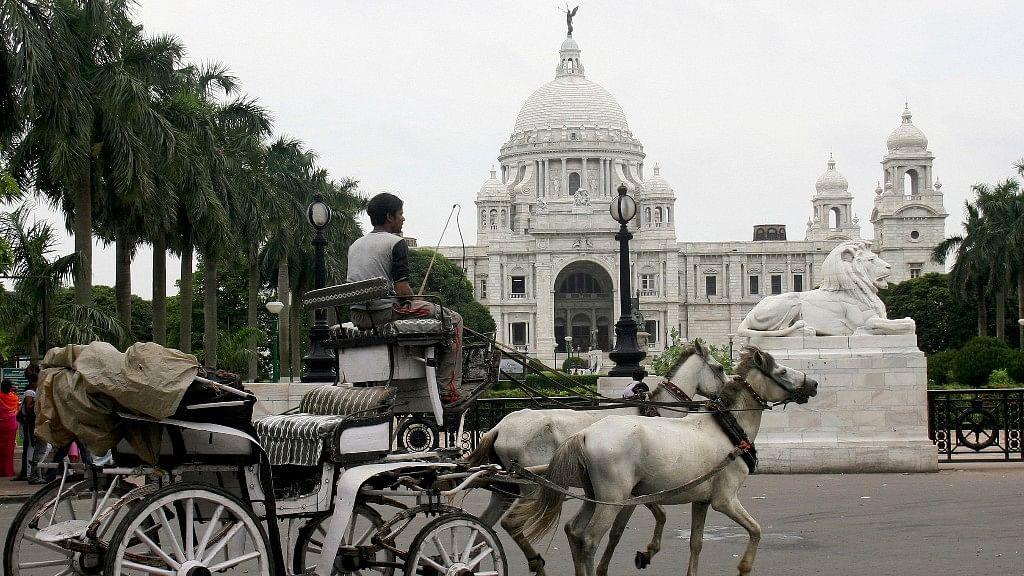 The Victoria Memorial in Kolkata.