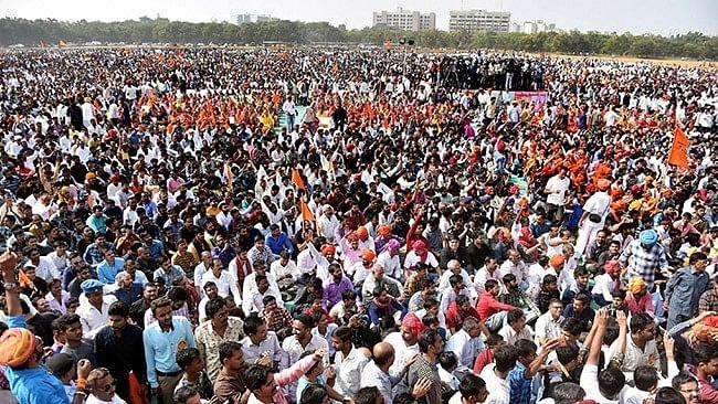 Karni Sena holds protest against Bhansali's <i>Padmavati.</i>