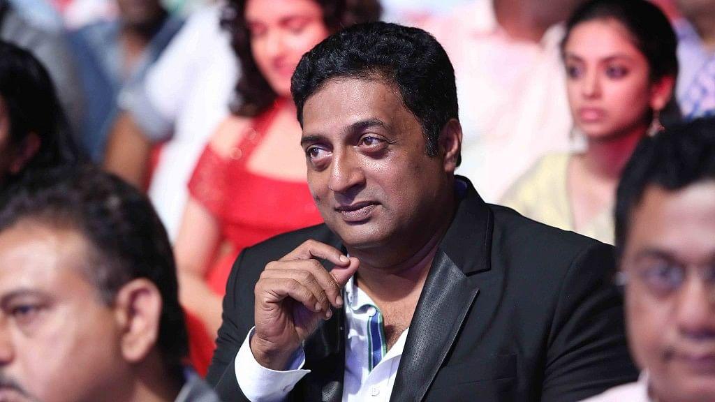 Indian actor Prakash Raj.