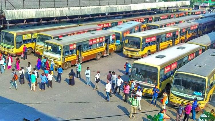 The Tamil Nadu bus strike left commuters in the lurch, with auto-rickshaws and private cabs hiking rates for the day.