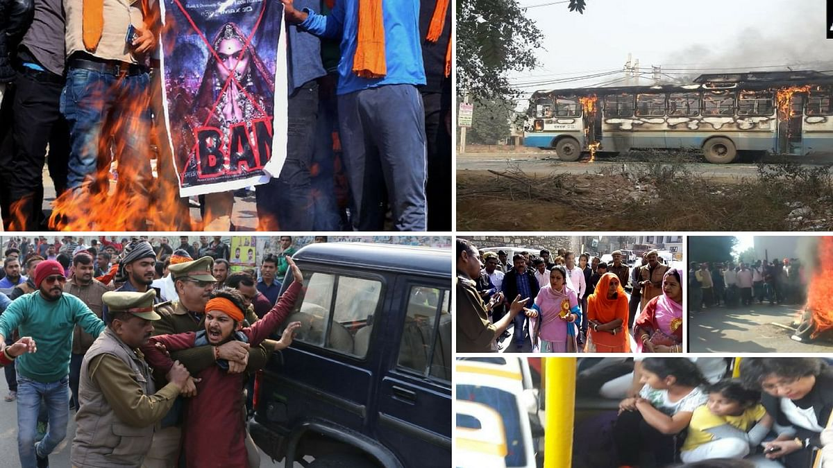 <i>Padmaavat </i>protests across the country.