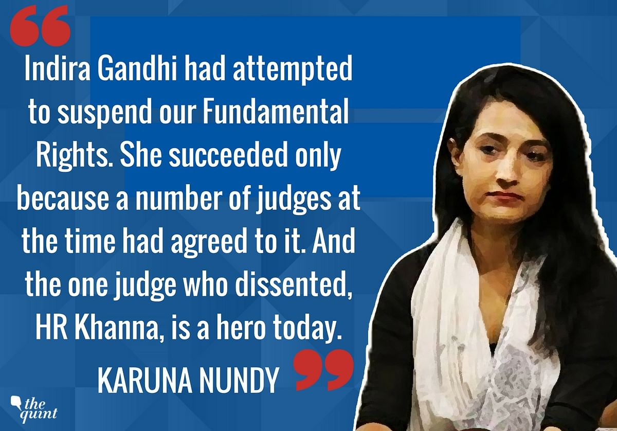 'Dissenting SC Judges Are of the Highest Integrity': Karuna Nundy