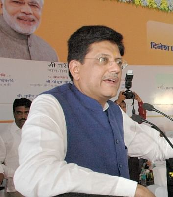 Railway Minister Piyush Goyal . (File Photo: IANS)