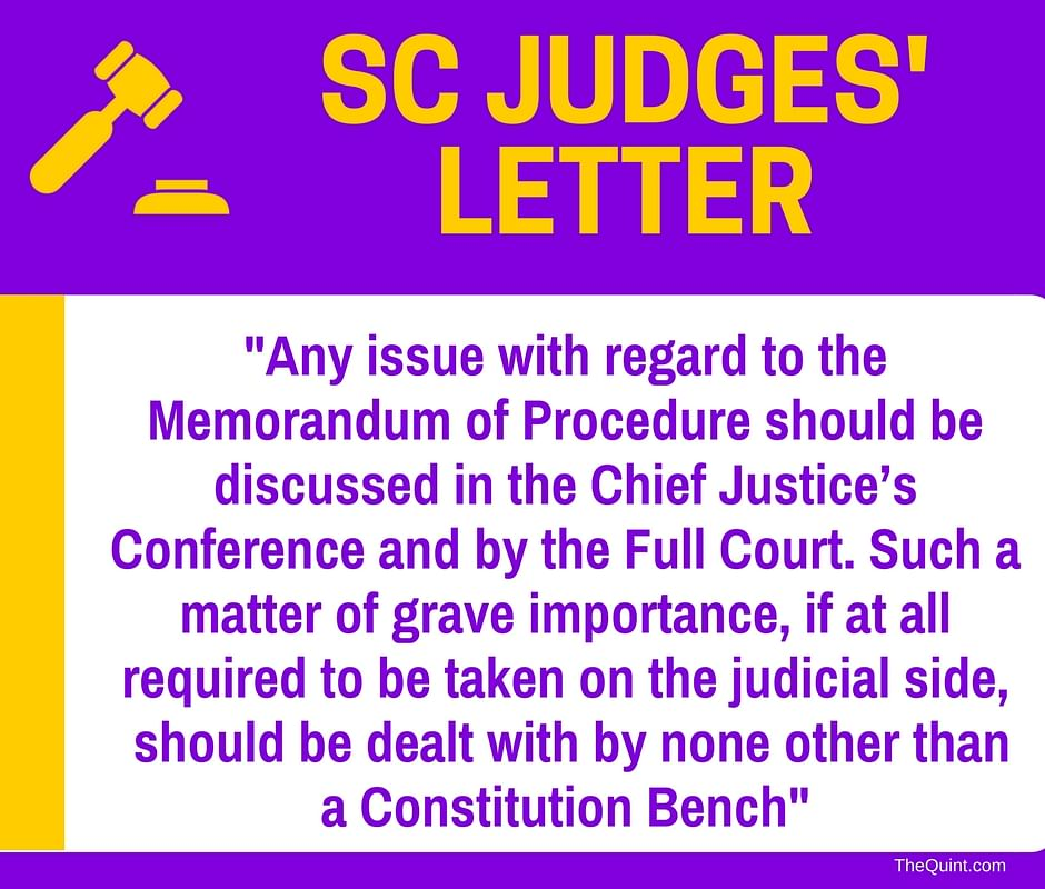 7 Highlights From Scathing Letter SC Judges Wrote to CJI Misra