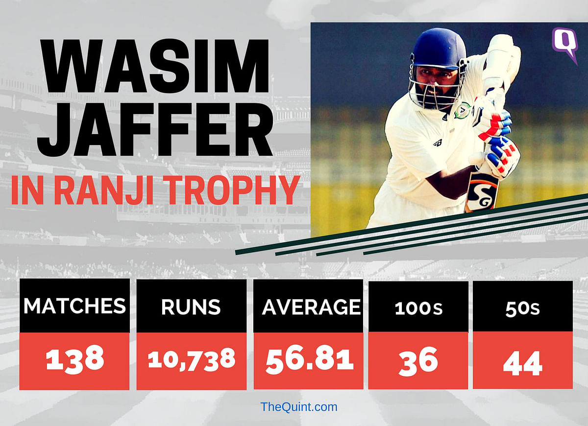 9 Wins in 9 Ranji Trophy Finals, Wasim Jaffer Refuses to Slow Down