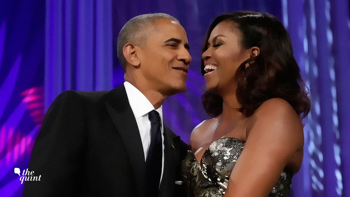 Barack and Michelle Obama have never shied away from PDA.