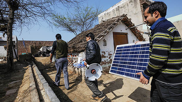 India has one of the world's largest programmes to expand renewables — a tripling of capacity over the next five years.