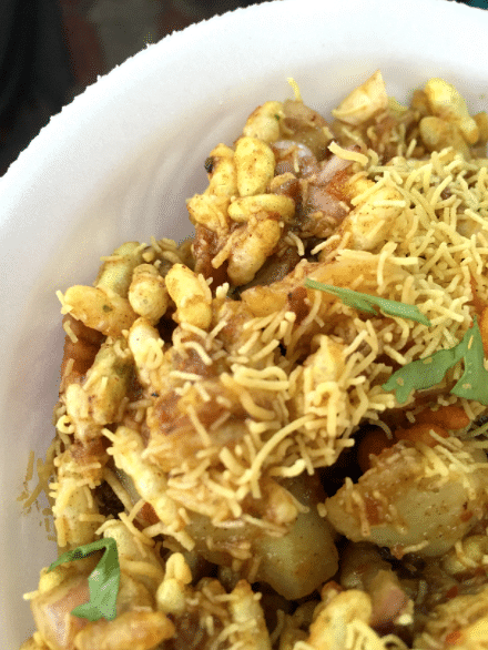 Bengal's favourite –<i> Jhaal Moori</i> (puffed rice mixed with masalas, mustard oil and chillies)
