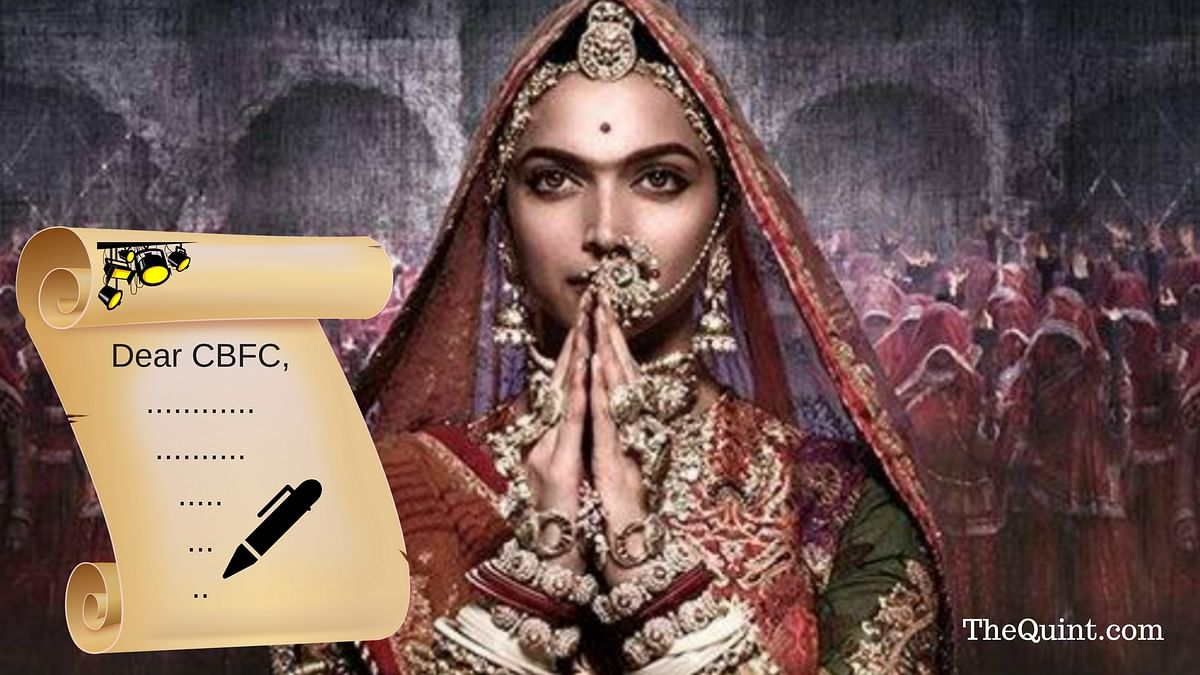Open Letter: Hey CBFC, Thanks For Standing With 'Padmaavat' (Not)