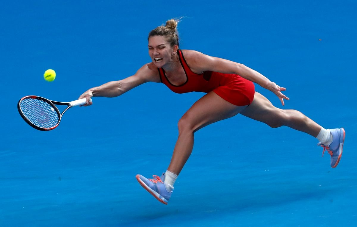 Simona Halep reached her first Australian Open final.