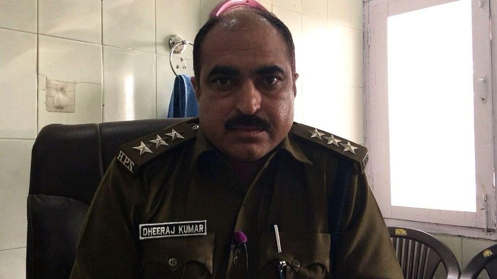 Dheeraj Kumar, DSP (Pehowa)