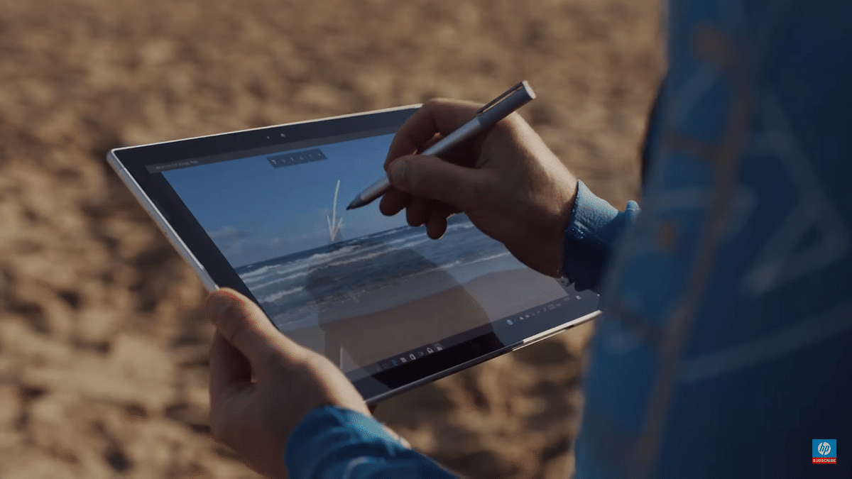 The HP Envy X2 offers up to 20 hours of battery life.