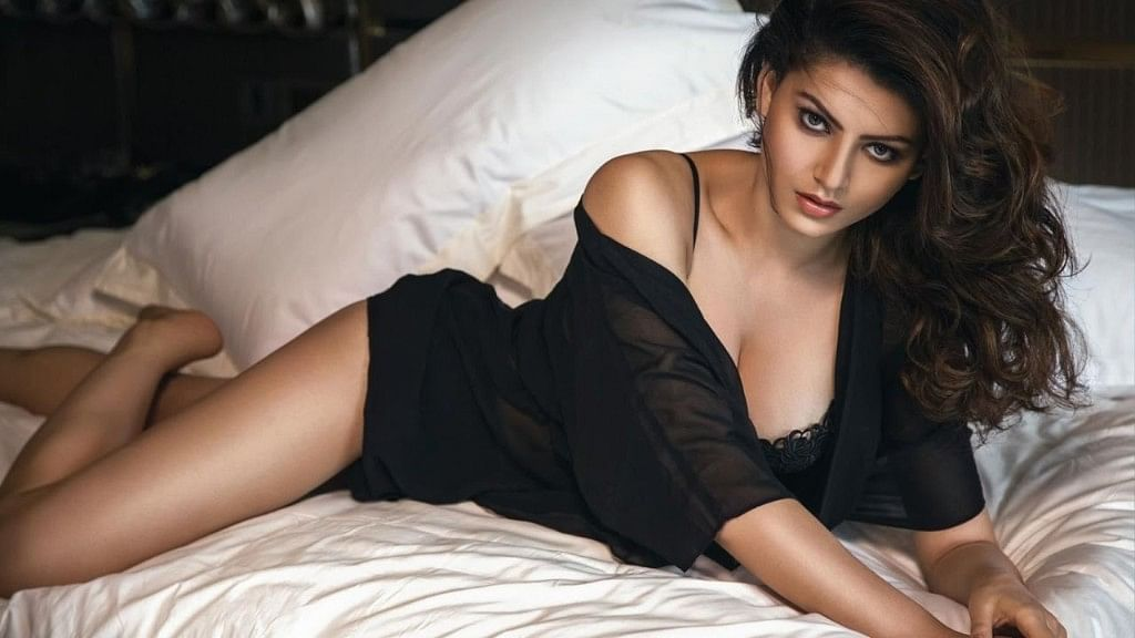 Urvali Rautela in a still from <i>Hate Story 4</i>.