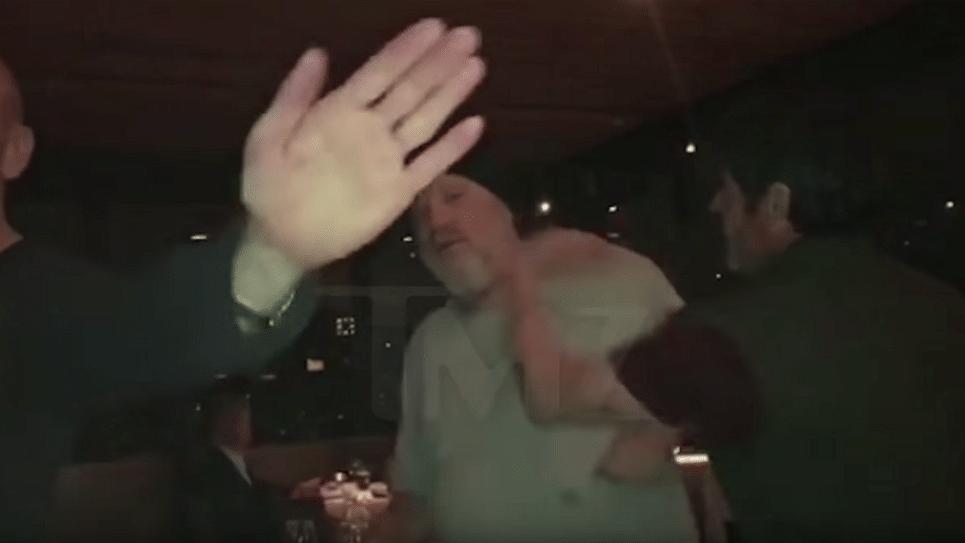 Weinstein gets slapped by Steve.