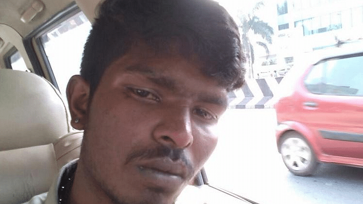 Manikandan set himself on fire after allegedly being beaten by policemen.