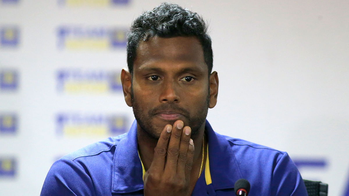 Mathews resigned as captain from all three formats last July.