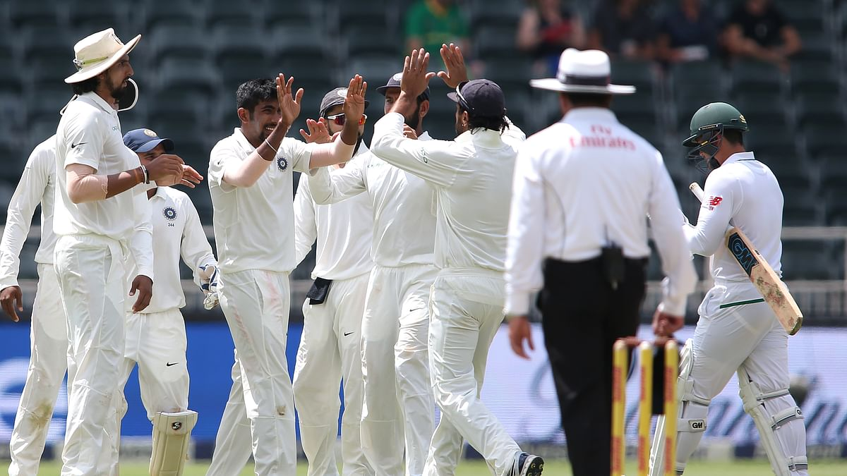 In Stats: Bumrah's Five Cancels Out 1st Innings in Jo'burg Test