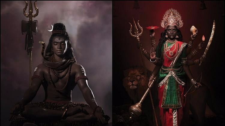 What Colour is God's Skin? The Dark Is Divine Photo Series Asks