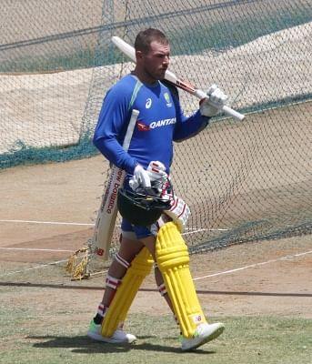 Australian cricketer Aaron Finch. (File Photo: IANS)