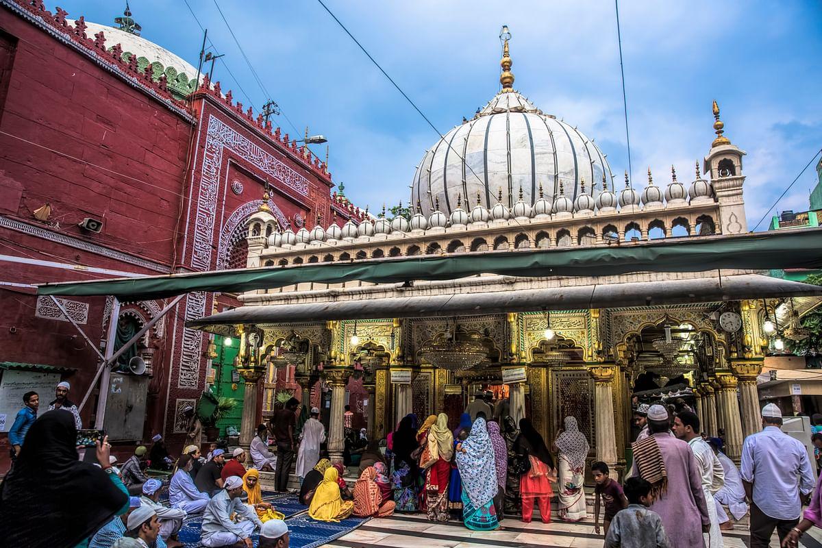 Hazrat Nizamuddin Dargah in Delhi.