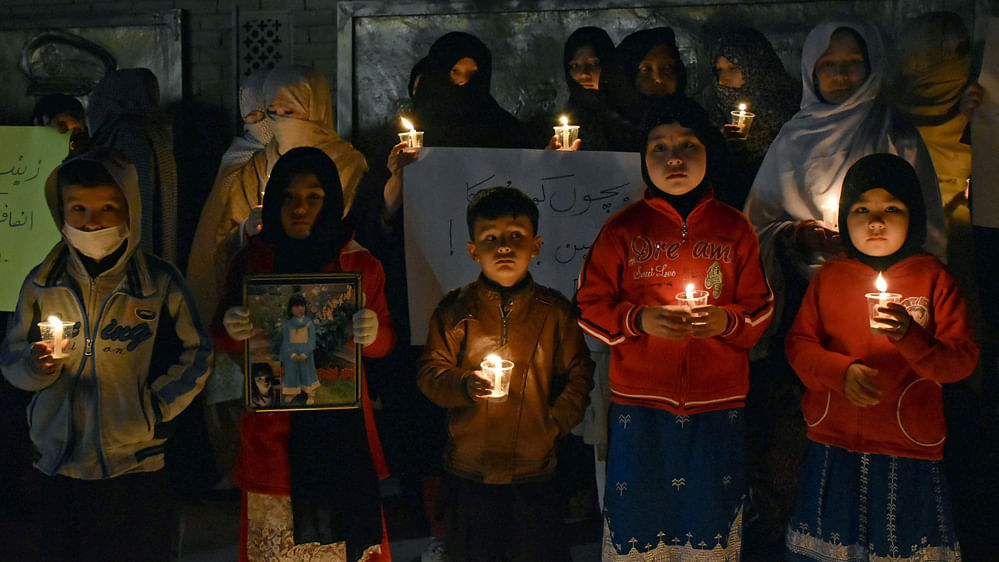 The girl's murder was the 12th such incident reported in Kasur district in a year.