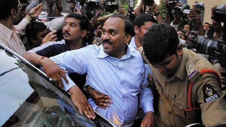 Janardhana Reddy, who is prohibited from entering Ballari according to his bail conditions.