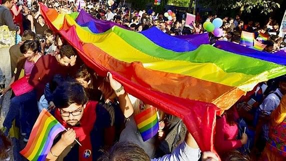 File image of a Pride Walk conducted by the LGBTQ community in India.