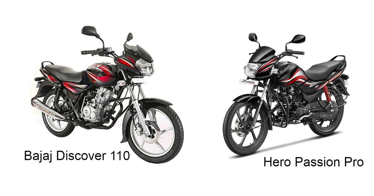 Commuter Bike Battle: Bajaj Discover 110 vs Hero Passion Pro