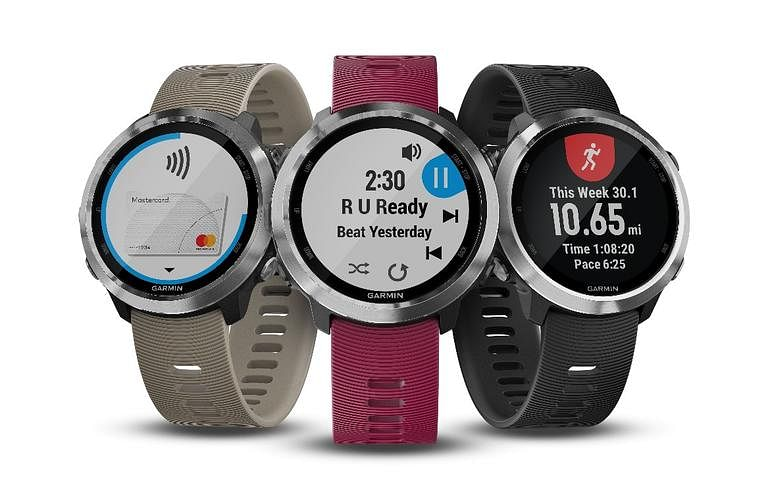 The Garmin Forerunner 645 comes with offline music support.